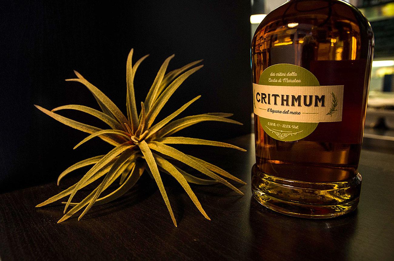 bottiglia crithmum con critini
